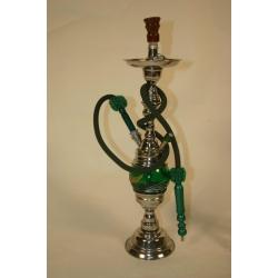 W221: Wasserpfeife / Nargila / Shisha mit drehbarem Glastopf