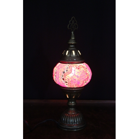 L215: Mosaik Stehlampe