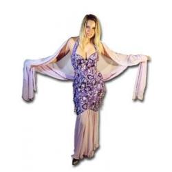Vollbesticktes Kleid