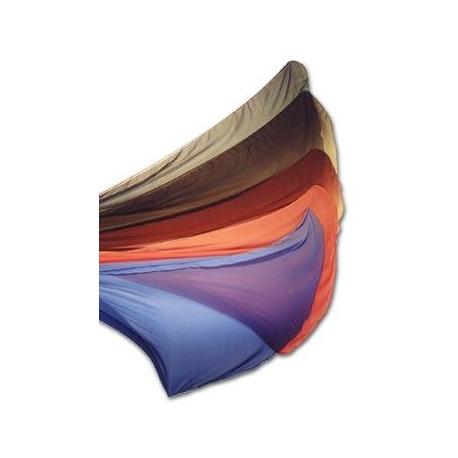 Halbrunder Chiffonschleier mit Farbverlauf