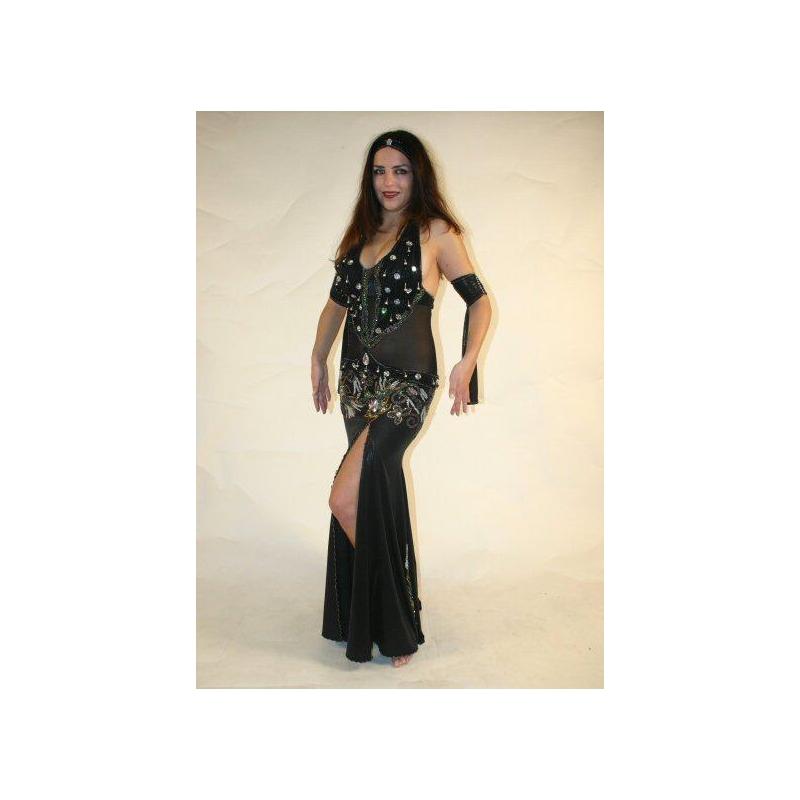 p235 bauchtanzkleid mit netzteilen isis basar online. Black Bedroom Furniture Sets. Home Design Ideas