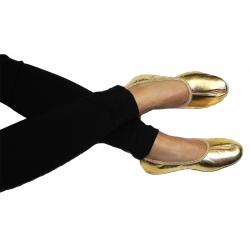 Bleyer-Tanzschuhe, unbestickt - gold