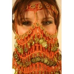F238: Gehäkelte Gesichtsbedeckung