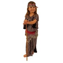 F305: Gestreiftes Stocktanzkleid für Kinder