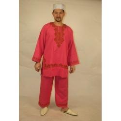 F230: Folkloreset aus langem Hemd und Hose