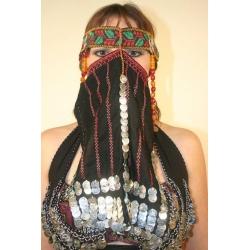 F213: Beduinen-Gesichtsbedeckung