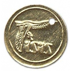 Z218: ISIS-Messingmünzen, 100 Stück