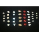 Z253: Geschliffene Kristallsteine - ovale Form