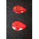 Z254: Geschliffene Kristallsteine - Paranuss-Form