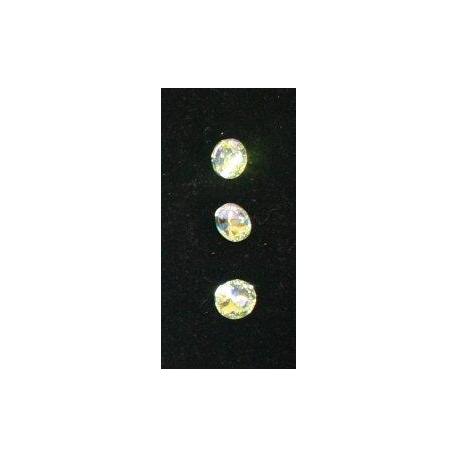 Z256: Geschliffene Kristallsteine - runde Form